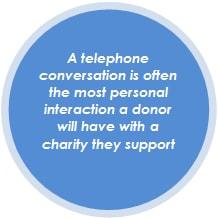 Charity Fundraising - Telephone Call
