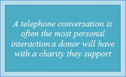 Charity Fundraising - Telephone Call